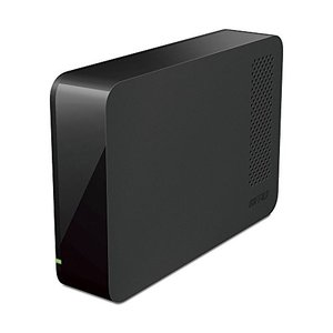 BUFFALO USB3.1(Gen1)/3.0/2.0対応 PC/家電対応 外付けHDD 3TB ブラック HD-LC3.0U3-BKF|mediaearth