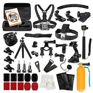 LyStar 51-in-1 Gopro アクセサリー セット アクションカメラ撮影用パーツ 日本語取説付属 for Gopro Hero 6/5/4|mediaearth