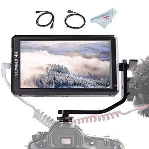 カメラ液晶モニター FEELWORLD F6 5.7インチIPSモニター フルHD撮影モニター 1920x1080 オンカメラビデオモニター フィール|mediaearth