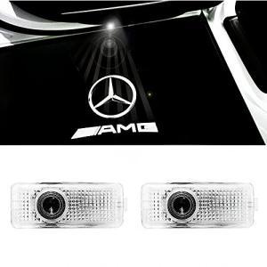 ColorBuy カーテシ LED カーテシランプ カーテシライト メルセデスベンツ CLAクラス CLSクラス車用 (AMG)|mediaearth