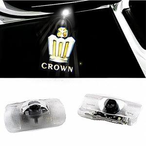 ColorBuy カーテシ LED カーテシランプ カーテシライト CROWN クラウン車用 (CROWN)|mediaearth