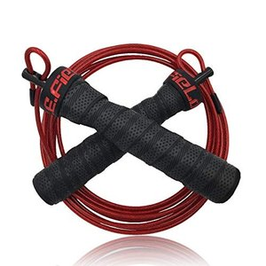 P.E.Field 縄跳び トレーニング スキップロープ 筋トレ ダイエット スポーツ フィットネス ロープ調整可能 なわとび - ワークアウト、 D|mediaearth