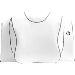 YOKONE3 横向き寝 快眠 安眠 睡眠時無呼吸症候群 無呼吸 いびき ストレートネック 肩こり 頭痛 マッサージ機能 横寝 枕 ヨコネスリー(白)|mediaearth