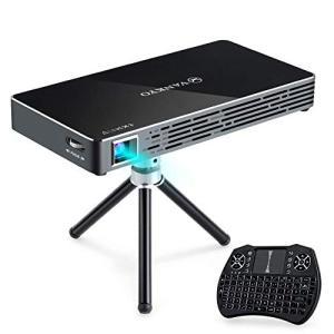 ?【wifi 接続&有線接続】:VANKYOミニDLPプロジェクター M50はwifi 接続&有線接...