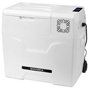 Bonarca 車載対応 冷蔵冷凍庫 50L [氷点下まで脅威の冷却スピード] AC/DC( 12V / 24V )電源対応|mediaearth