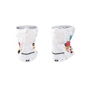 TACO(タコ)冷感 フェイスカバー ネックカバー マスク メッシュ UVカット 日焼け防止 紫外線対策 レディース メンズ 通気 速乾 アウトドア|mediaearth