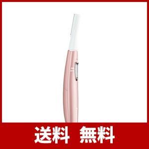 丸い刃先で肌にやさしい、約0.12mmのうす刃。水なしですっきり剃れる。 肌の凸凹に合わせて動く、密...