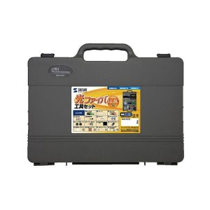 サンワサプライ 光ファイバ自作工具セット(LC・SC両用) HKB-TLSET2 代引き不可/同梱不可|mediaroad1290