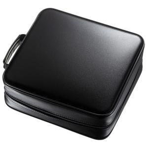 ブルーレイディスク対応セミハードケース(320枚収納・ブラック) FCD-WLBD320BK 代引き不可/同梱不可|mediaroad1290