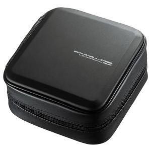 ブルーレイディスク対応セミハードケース(60枚収納・ブラック) FCD-WLBD60BK 代引き不可/同梱不可|mediaroad1290