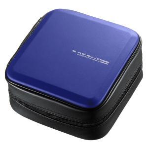 ブルーレイディスク対応セミハードケース(60枚収納・ブルー) FCD-WLBD60BL 代引き不可/同梱不可|mediaroad1290