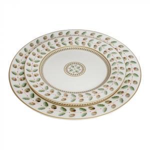 どんぐり柄のお皿2枚セット GZ-1801 代引き不可/同梱不可|mediaroad1290