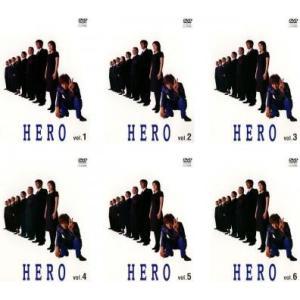 HERO 全6枚 001〜011 最終話 レンタル落ち 全巻セットsc 中古 DVD  テレビドラマ|mediaroad1290