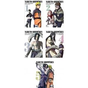 NARUTO ナルト 疾風伝 全5枚 遥かなる再会の章 1、2、3、4、5 レンタル落ち 全巻セット...