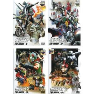 仮面ライダー THE MOVIE  全4枚 1、2、3、4 レンタル落ち セット 中古 DVD  東映