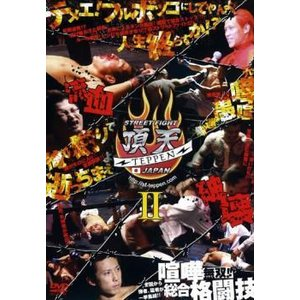 bs::STREET FIGHT 頂天II TEPPEN JAPAN レンタル落ち 中古 DVD ケ...
