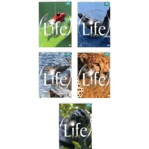 BBC EARTH Life ライフ 全5枚 1、2、3、4、5 レンタル落ち 全巻セット 中古 DVD