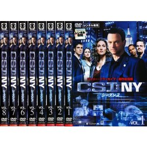 bs::CSI:NY シーズン3 全8枚 第1話〜第24話 最終 レンタル落ち 全巻セット 中古 DVD  海外ドラマ ケース無:: mediaroad1290