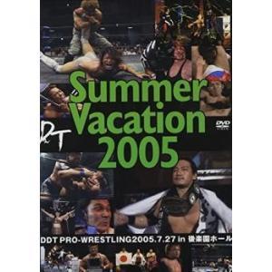 DDT Summer Vacation 2005-2005年7月27日後楽園ホール大会- 中古 DVD mediaroad1290