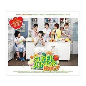 Cooking ? Cooking ! : Super Junior Happy 1st Mini Album CD+Mini Photo Book レンタル落ち 中古 CD ケース無::の画像