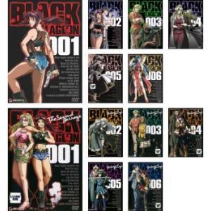 BLACK LAGOON ブラックラグーン 全12枚 全6巻 + The Second Barrage 全6巻 レンタル落ち 全巻セット 中古 DVD|mediaroad1290