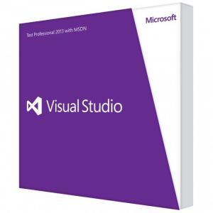 新品 Microsoft Visual Studio Test Professional 2013 with MSDNの商品画像|ナビ
