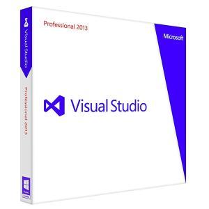 新品 マイクロソフト Microsoft Visual Studio Professional 2013 通常版の商品画像|ナビ
