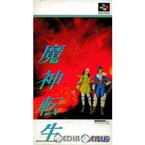 『中古即納』{箱説明書なし}{SFC}魔神転生(Majin Tensei)(19940128)|mediaworld-plus