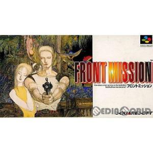 『中古即納』{箱説明書なし}{SFC}Front Mission(フロントミッション)(19950224)|mediaworld-plus