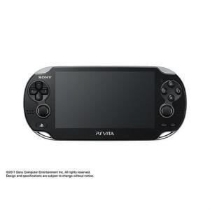 『中古即納』{本体}{PSVita}PlayStation Vita Wi-Fiモデル クリスタル・ブラック(PCH-1000ZA01)(20111217)