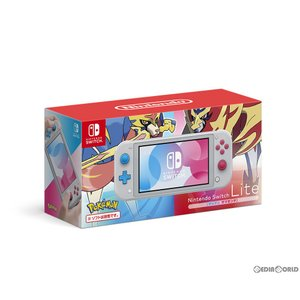 『中古即納』{本体}{Switch}Nintendo Switch Lite(ニンテンドースイッチライト) ザシアン・ザマゼンタ(HDH-S-GBZAA)(20191101)|mediaworld-plus