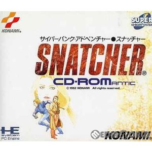 『中古即納』{PCE}スナッチャー(スーパーCDロムロム)(19921023)|mediaworld-plus