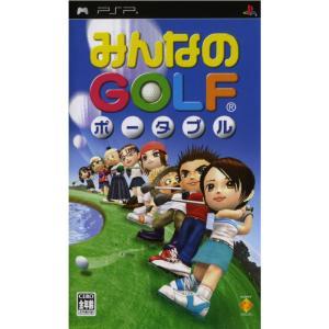 『中古即納』{PSP}みんなのGOLF ポータブル(みんなのゴルフ Portable)(200412...