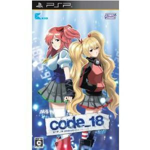 ■タイトル:code_18 (コード18) 通常版 ■機種:プレイステーションポータブルソフト(Pl...