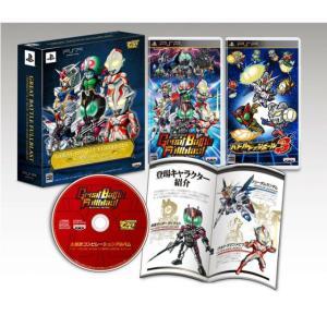 『中古即納』{PSP}グレイトバトル フルブラスト 初回限定生産版「ツインバトルBOX」(限定版)(20120301) mediaworld-plus