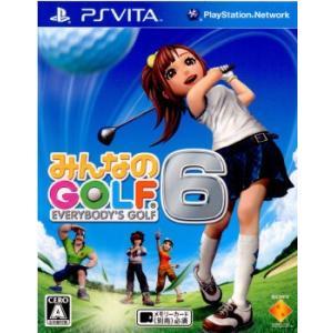 ■タイトル:みんなのゴルフ6(みんゴル6) ■機種:プレイステーションヴィータソフト(PlaySta...