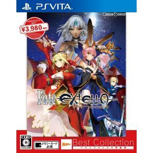 『中古即納』{PSVita}Fate/EXTELLA(フェイト/エクステラ) Best Collection(VLJM-38067)(20180111)|mediaworld-plus