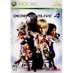 『中古即納』{Xbox360}DEAD OR ALIVE 4(デッド オア アライブ4)(20051229)|mediaworld-plus