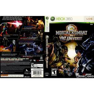 『中古即納』{Xbox360}Mortal Kombat vs. DC Universe(モータルコ...