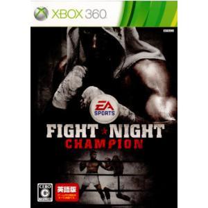 『中古即納』{Xbox360}ファイトナイト チャンピオン(Fight Night Champion...