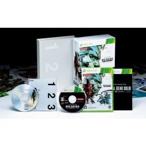 『中古即納』{Xbox360}METAL GEAR SOLID HD EDITION(メタルギア ソリッド HDエディション) プレミアムパッケージ(限定版)(20111123)|mediaworld-plus