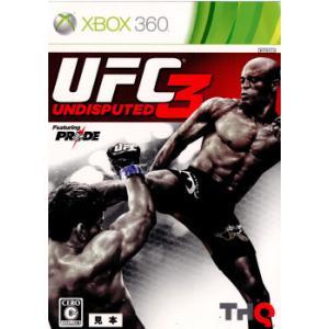 『中古即納』{Xbox360}UFC Undisputed 3(アンディスピューテッド3)(20120301)|mediaworld-plus
