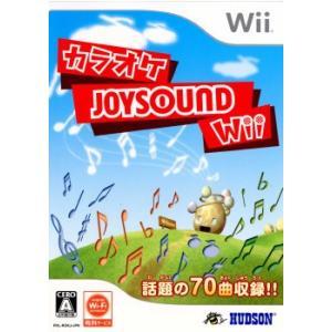 『中古即納』{表紙説明書なし}{Wii}カラオケJOYSOUND Wii(ジョイサウンド ウィー)(専用USBマイク同梱)(20081218)|mediaworld-plus