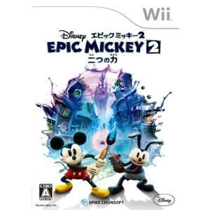 『中古即納』{表紙説明書なし}{Wii}ディズニー エピックミッキー2:二つの力(Epic Mickey 2: The Power of Two)(20130926)|mediaworld-plus
