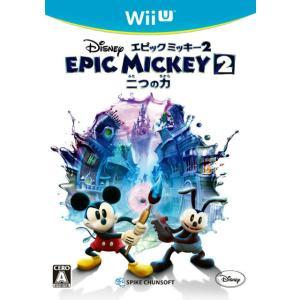『中古即納』{WiiU}ディズニー エピックミッキー2 二つの力(20130926) mediaworld-plus