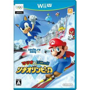 『中古即納』{WiiU}マリオ&ソニック AT ソチオリンピック(20131205)