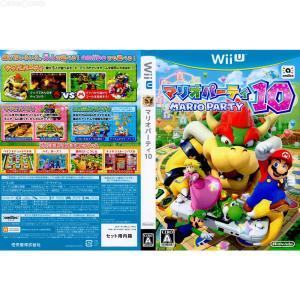 『中古即納』{WiiU}マリオパーティ10 amiiboセット(ソフト単品※アミーボは付属しません。)(20150312) mediaworld-plus