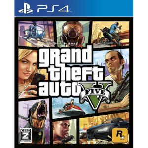 『中古即納』{PS4}Grand Theft Auto V(...