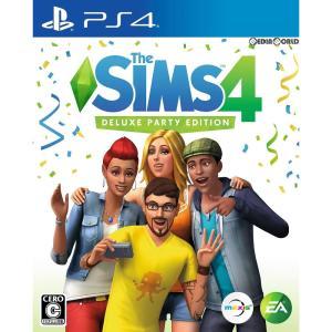 『中古即納』{PS4}The Sims 4(ザ・シムズ4) Deluxe Party Edition(限定版)(20171114) mediaworld-plus