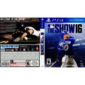 『中古即納』{PS4}MLB The Show 16(北米版)(3000929)(20160329)|mediaworld-plus